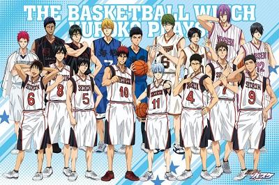 黒子のバスケ BASKETBALL PLAYERS
